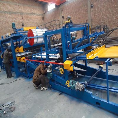 Foam Wall Sandwich Panel Roll Forming Machine