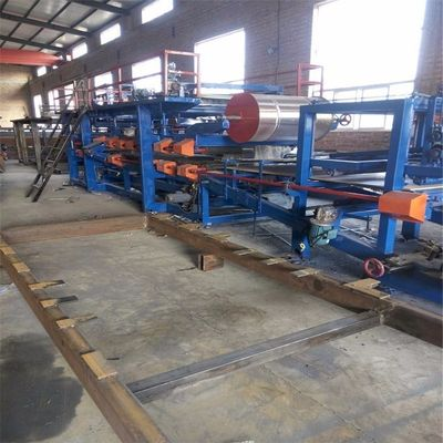 Rockwool Eps Sandwich Panel Machine Line
