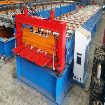 Standing Seam Wall 8kw Glazed Tile Roll Forming Machine