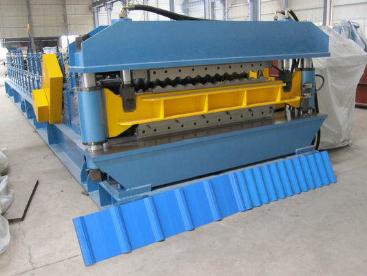 High Speed Double Layer Rolling Form Machine / Steel Forming Machines