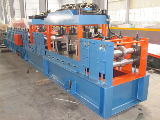 Automatic Cut Stud and Track Roll Forming Machine 0.5mm - 0.8mm 20m / min