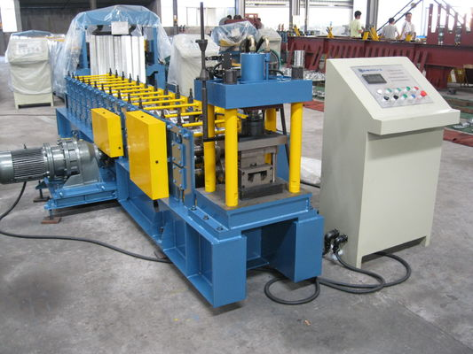 High Speed Cold Roll Forming Machine For Metal Furring / Roll Forming Machinery