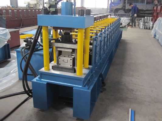 Cold Roll 45# Steel Stud Roll Forming Machine For Metal Slat