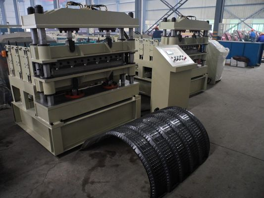 China ISO Corrugated Sheet Roll Forming Machine 72mm Diameter of Shaft 2.2KW factory