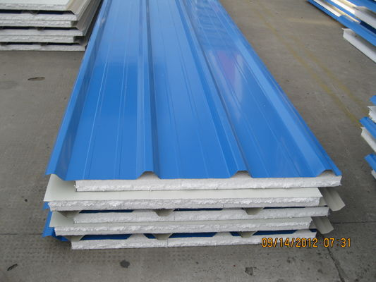 Insulation EPS Roof Sandwich Panel 40mm Thickness For Container House