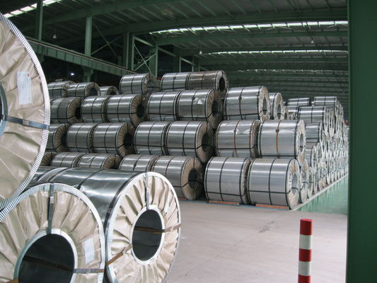 Chromated and Oiled Glavanized Stainless Steel Strip Coil 1200mm Width
