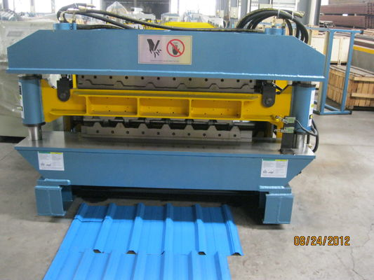 Double Layer Profile Steel Rolling Machine For Roof and Cladding