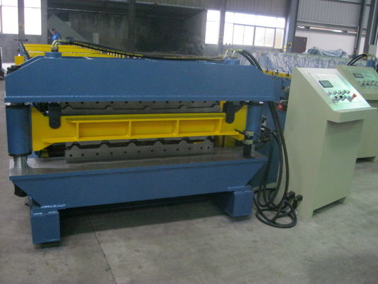 Automatic Double Layer Roll Forming Machine With CR12 mould steel